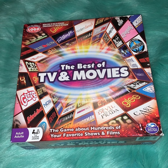 The Best of TV & Movies Board Game